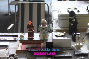 tokat feriköy bit pazarı eski oyuncak robot
